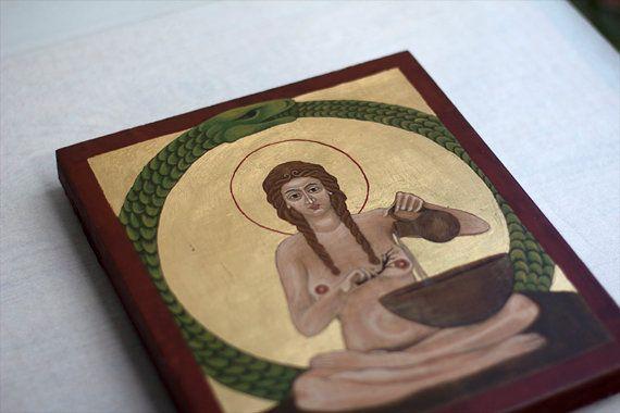 Unorthodox icon - Medicine Woman / Ouroboros