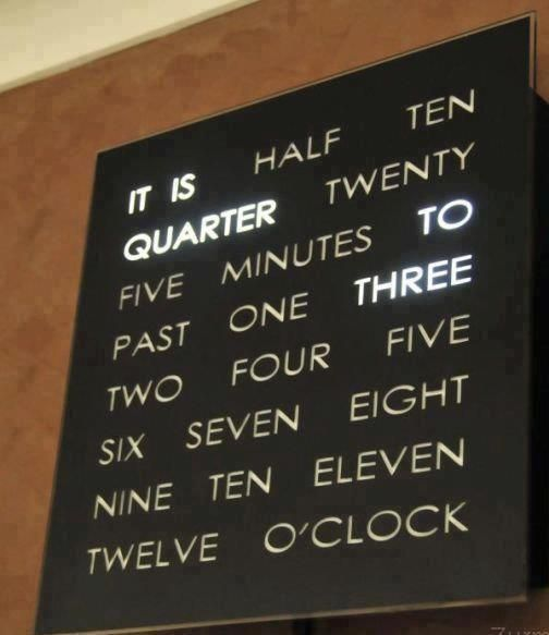 Yessss. I'm in love with this clock!
