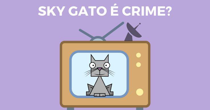 O sonho da TV a cabo com canais infinitos virou realidade para os brasileiros com a sky gato. Mas será que isso é crime? Confira aqui a explicação completa.  #skygato #sky #skygatocrime