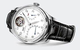 IWC Schaffhausen   International Watch Company   Collection   IWC Portugieser   Portugieser Tourbillon Mystère Rétrograde