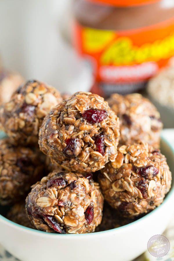 Chocolate Peanut Butter Oat Snack Bites | Foodqik