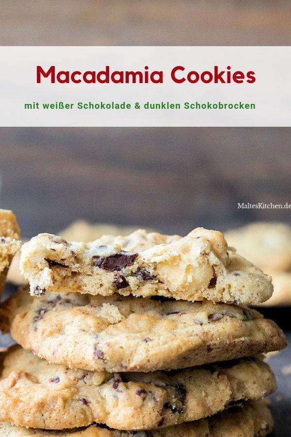 Die besten Macadamia Cookies der Welt
