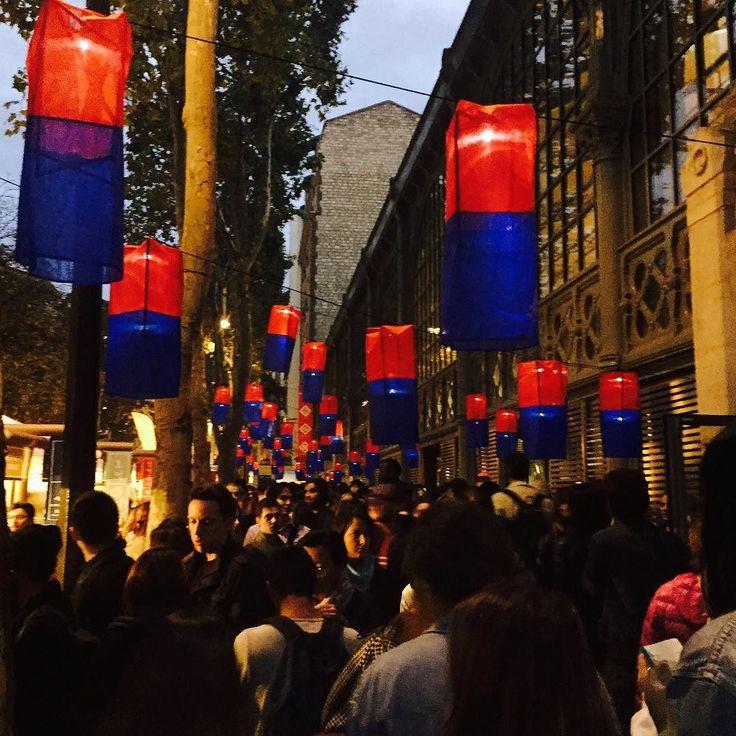 #청사초롱 #예뿌다  #streetfoodtemple in #paris by seungoodee
