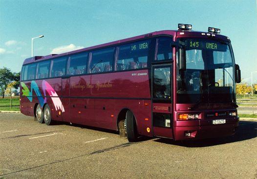 Ikarus EAG E98 HD a Wennbergs Buss Bjurholm szineiben