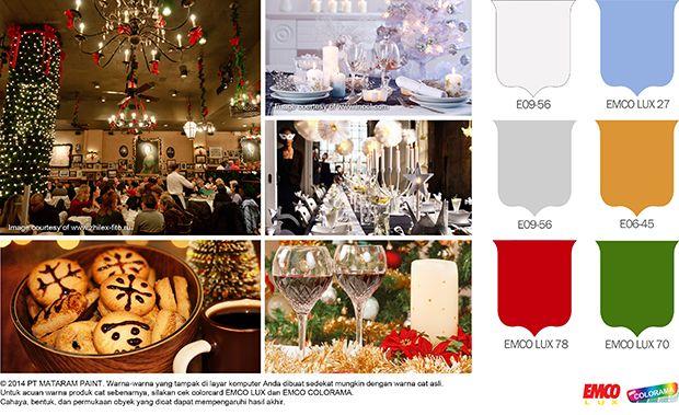 Palet Warna Natal Meriahkan Bisnis Kuliner #Future #Color http://matarampaint.com/detailNews.php?n=271