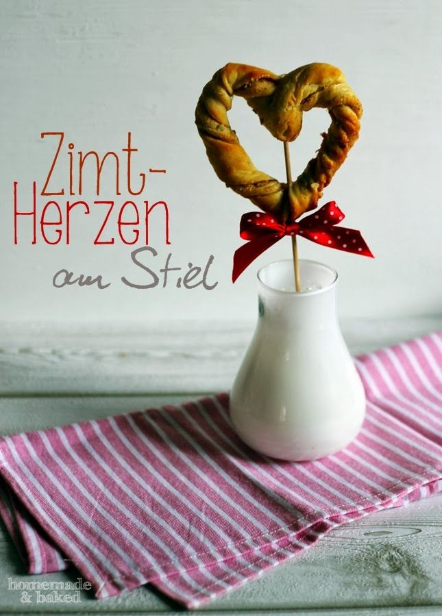 homemade and baked Food-Blog: Zimtherzen am Stil