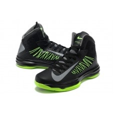 Nike Lunar Hyperdunk X 2012 Basketball Shoes Green Black Sliver