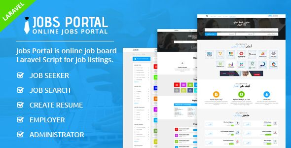 Jobs Portal - Job Board Laravel Script Nulled | Nulled