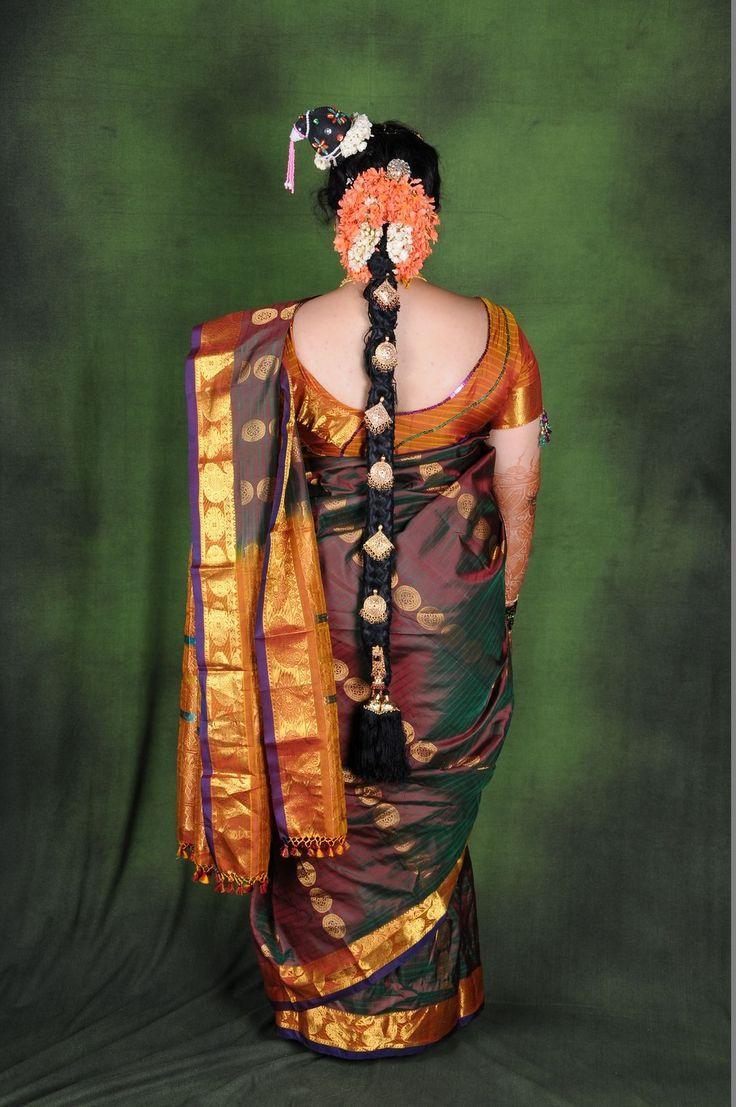 Iyer Bride Hairstyles . Iyer Bride in 2020 South indian