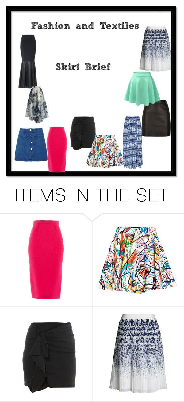 skirt title page brief by phoso on Polyvore featuring art