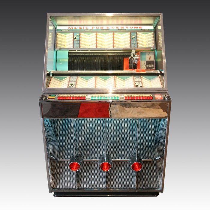 Seeburg 201 Vinyl Jukebox   The Games Room Company