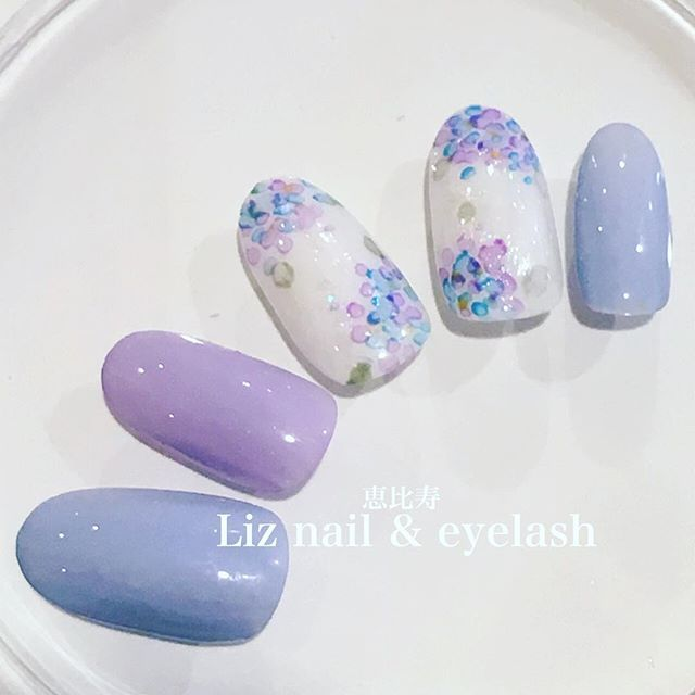 HolidayMood.nails.blue.purple.