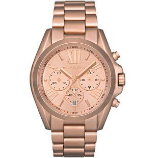 """Michael Kors """"Bradshaw"""" fémszíjas, rozéarany színű női óra MK5503"""