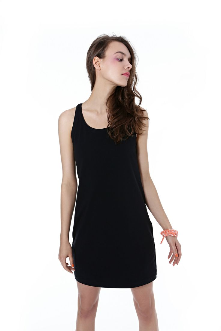 #blackdress #simple #summer 2014