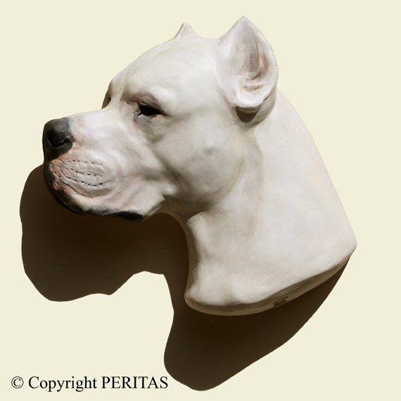Dogo Argentino Perro Bronce Patina Castito Piedra De Piedra Etsy Dogo Argentino Dog Dogs Dog Argentino