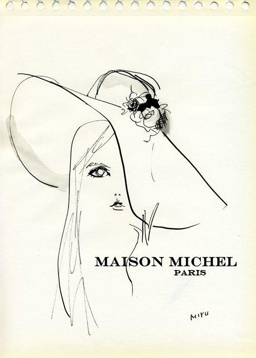 """""""Clemence Posy for Maison Michel Autumn Winter 2011"""" カール・ラガーフェルド(Karl Lagerfeld)撮影の、帽子・ヘッドアクセサリーブランド『Maison Michel(メゾン・ミッシェル)』のルックブックを毎回楽しみにしています。 クレマンス・ポエジー(Clemence Posy)、さすがフランス女優だけあって帽子が似合う!"""