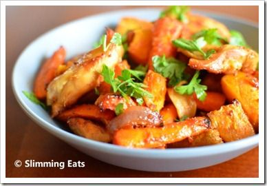 Sweet and Sticky Chicken | Slimming Eats - Slimming World Recipes
