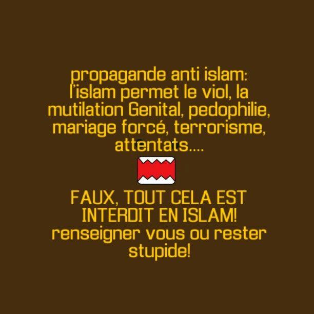 viol mutilation genital pedophilie mariage forc terrorisme attentats interdit en islam - Mariage Forc Islam