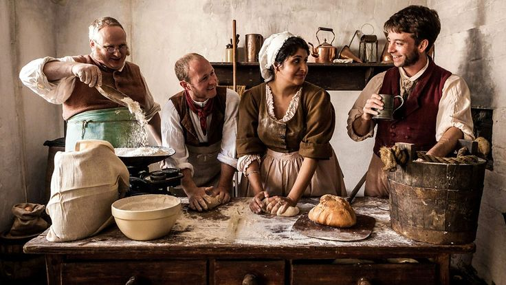 Four bakers leave their businesses behind to bake their way through the Victorian era.