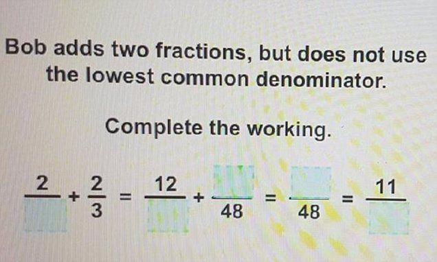 Can YOU solve this challenging year 7 maths homework?