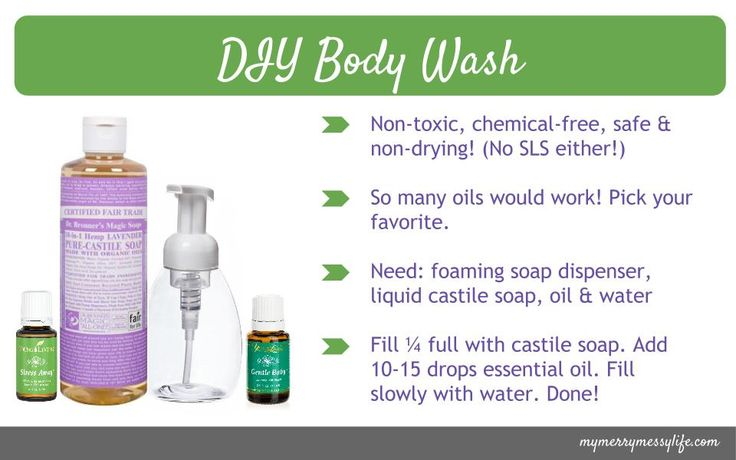 Young Living Essential Oils: Body Wash