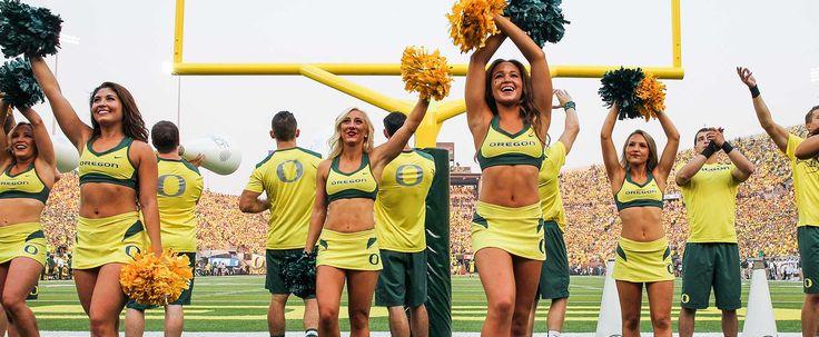 Oregon Cheerleading - GoDucks.com | The University of Oregon Official Athletics