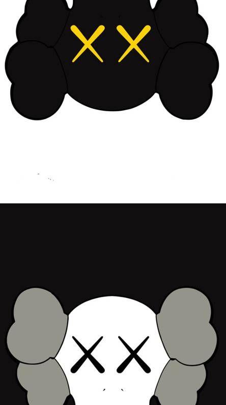 Kaws iphone Wallpapers Free by ZEDGE™ Objek gambar