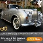 Wedding Limos:  ========================= The best day of your life deserves only the finest! Save up to 30% on Wedding Limos.