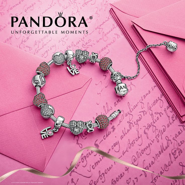 """This year, make your Valentine's Day sparkle with Pandora: purchase a """"Sparkle of Love"""" gift set for just $225 at Charlotte Jewelers. While supplies last."""