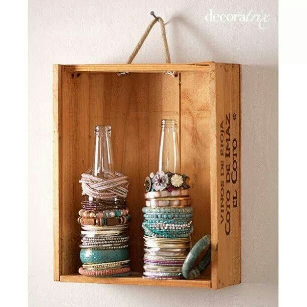 Perfect for bracelets and certain watches!: Ideas, Craft, Bracelet Holders, Bracelets, Storage Idea, Braceletholder, Jewelry, Diy