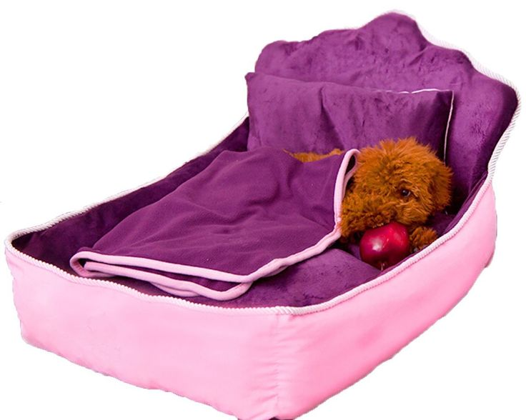 Pet Supplies Family of Four:Bed,Mattresse,Pillow,Blankets, Detachable Wash Dog Kennel Teddy Bed Mat Puppy Cat Litter Samoyed Large Dog Seasons Princess Bed *** Continue to the product at the image link. (This is an affiliate link and I receive a commission for the sales)