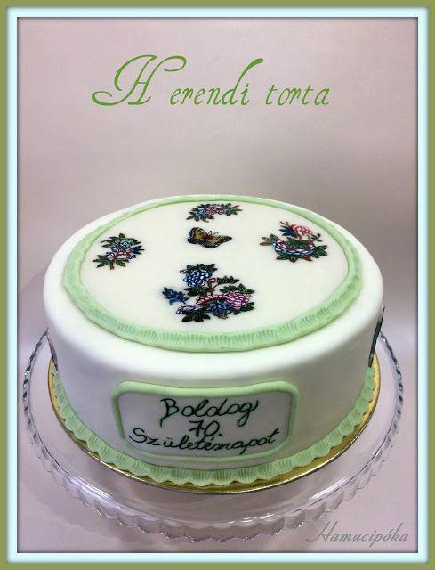 Hamucipóka: Herendi torta Viktória mintával