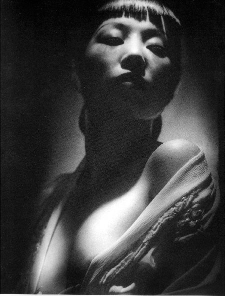 "Anna May Wong by George Hurrell from ""Dangerous to Know"" (1938)"