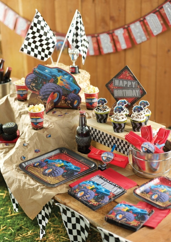 Party Ideas Monster Trucks A Collection Of Ideas To Try