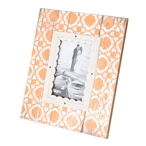 Luxe Laundry - Photoframes Wooden Photo Frame PF9466-Peach, $29.99 (http://www.luxelaundry.com.au/mayon-wooden-photo-frame-pf9466-peach/)