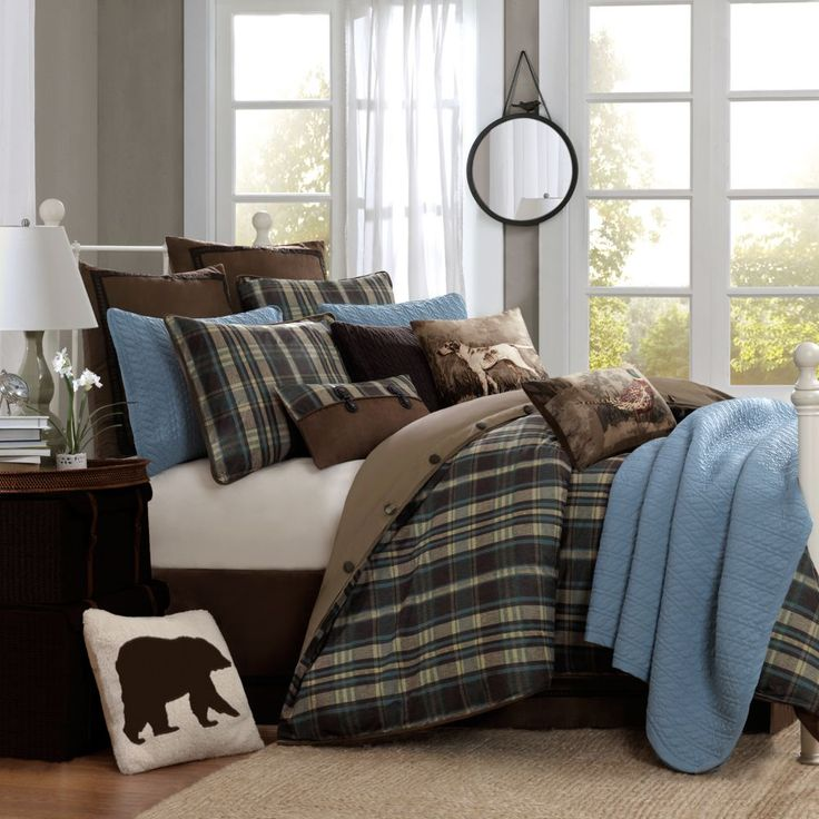 Woolrich Plaid Bedding Coordinates Home Style Plaid