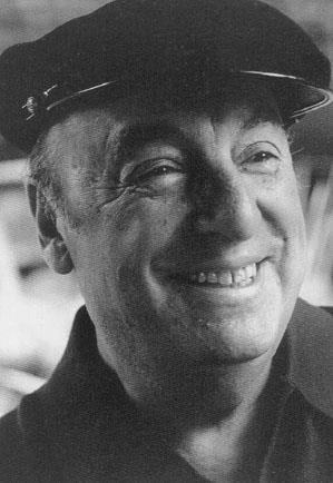"""Pablo Neruda """"Para mi corazón basta tu pecho,/  para tu libertad bastan mis alas./  Desde mi boca llegará hasta el cielo/  lo que estaba dormido sobre tu alma."""" (Veinte poemas de amor y una canción desesperada)"""