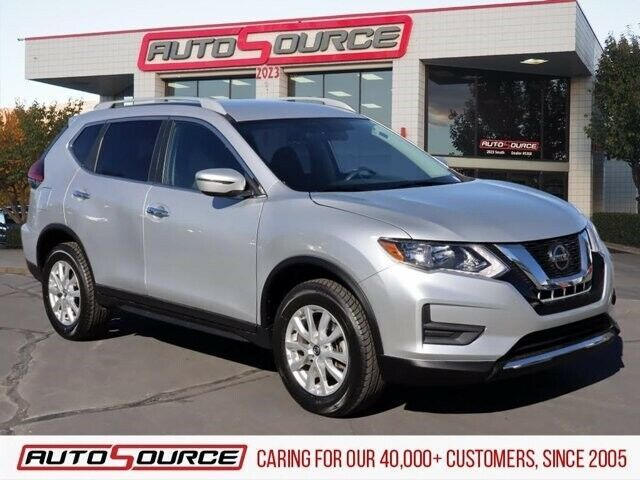 2018 Nissan Rogue Sv 2018 Nissan Rogue Sv 39113 Miles Brilliant Silver Sport Utility Regular Unleaded Nissan Rogue Nissan Rogue Sv Nissan