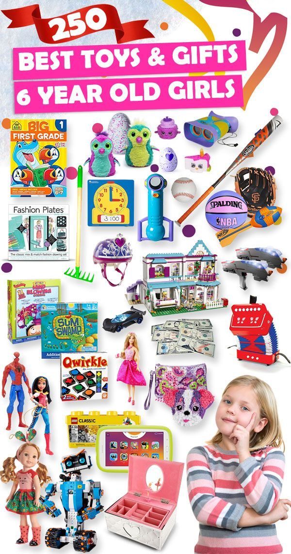 Tons of great gift ideas for 6 year old girls.