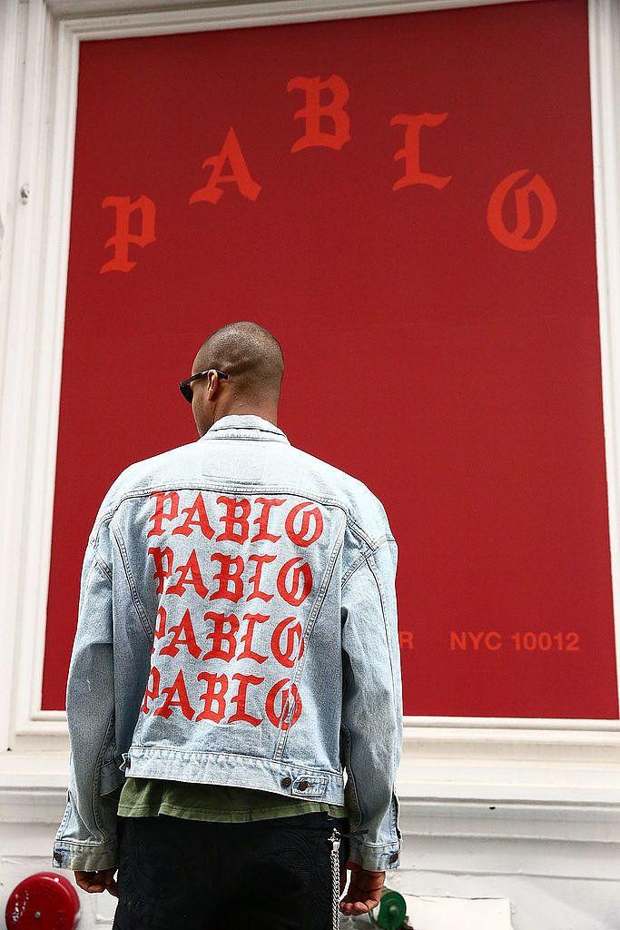 A Shopper Wearing Kanye's Pablo Jacket || Follow @filetlondon for more street wear style #filetclothing