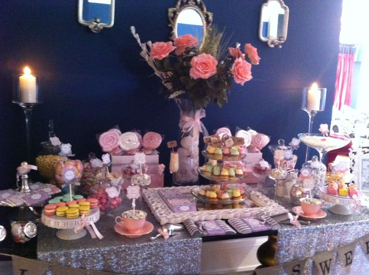 Vintage Candy Buffet by www.livingsimple.ie at Lisloughrey House Hotel, Co. Mayo