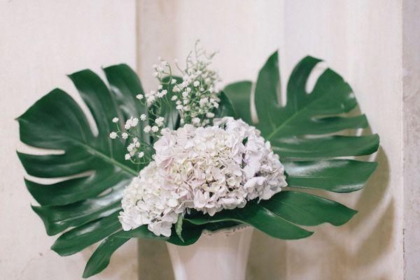 Matrimonio barocco in bianco, verde e giallo