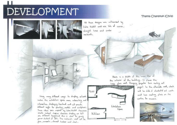 Exhibition Space Interior (Development)