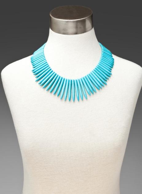 Kenneth Jay Lane... turquoise...