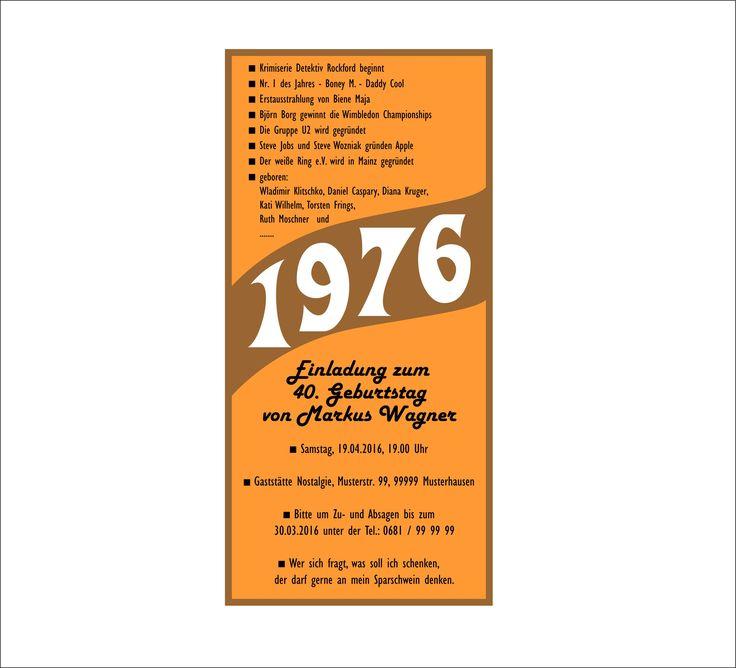 Schön Einladungskarten Zum 70 Geburtstag Zum Ausdrucken   Einladungskarten  Geburtstag   Pinterest