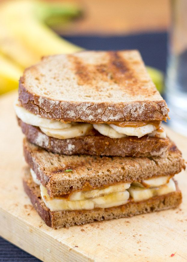 Anti-Hangover Peanut Butter Banana Sandwich | 23 Breakfasts That Might Actually Save Your Life