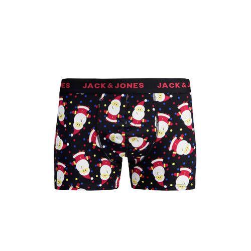 Jack Jones Giftbox Boxershort Sokken Met Kerst Print Sokken Prints En Nieuwe Mode