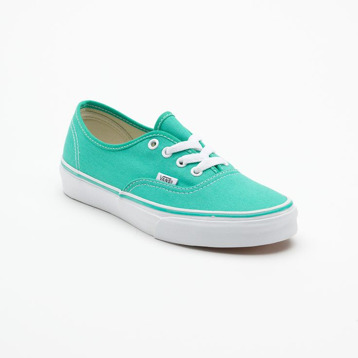 Canvas Authentic Vans in Pool Green - to go with my Dotti skinny jeans!
