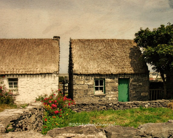 ....would consider moving there to get away from all the crazy for awhile.......though I think I'd need an internet connection still................: Irish Cottages Decor, Aran Islands, Ireland Photos, Art Photography, Cottages Ireland, Roof Cottages, Ireland Cottages, Fine Art, Things Irish