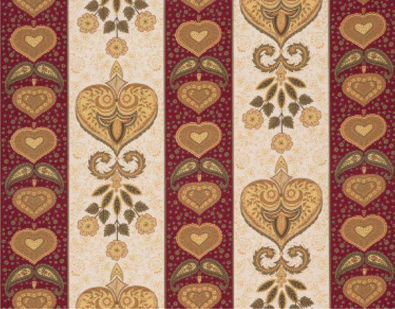 Portuguese Traditional Fabric Chita de Alcobaca in 4 colorways